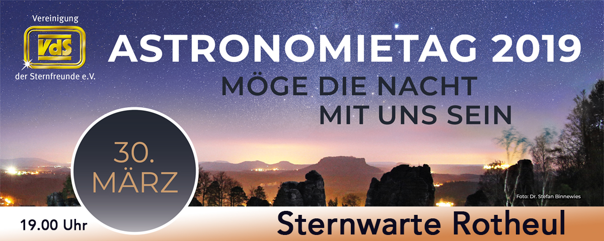 VdS Astronomietag 2019 Bannerstewa